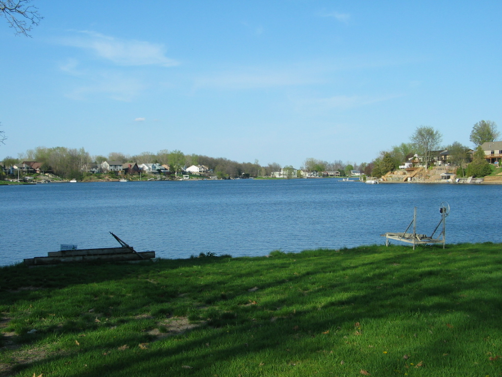 Lake front lot with great view and level for Lake front view