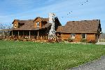 LOG HOME ON 2 ACRES, NE HILLSDALE COUNTY